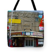 Old Film Theatre In Decay Tote Bag