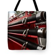 Old Fire Truck Tote Bag