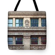 Old First National Bank - Building - Omaha Tote Bag