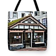 Old Fish Market Tote Bag