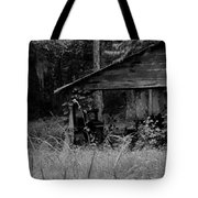 Old Fishing Shed Tote Bag