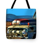 Old Ford Tote Bag