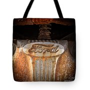 Old Ford Square Format Tote Bag