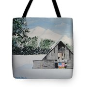 Old Forgotten But Still Proud Tote Bag