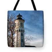 Old Fort Niagara Lighthouse 4478 Tote Bag