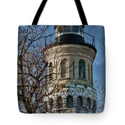 Old Fort Niagara Lighthouse 4484 Tote Bag