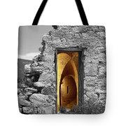 Old Fort Through The Magic Door Tote Bag