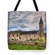 Old French Church Tote Bag