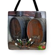 Old French Wine Casks Tote Bag