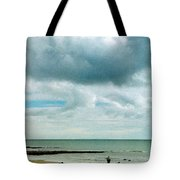 Old Friends Share A Beach Tote Bag