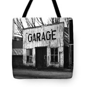 Old Garage Tote Bag