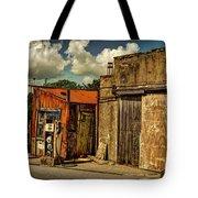 Old Gas Station Tote Bag