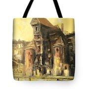 Old Gdansk - The Crane Tote Bag