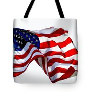 America The Beautiful Usa Tote Bag