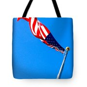 Old Glory Hdr Tote Bag
