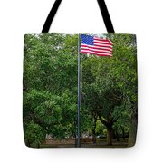 Old Glory High And Proud Tote Bag