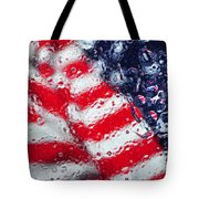 Old Glory Impression Tote Bag