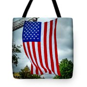 Old Glory Over Doylestown Tote Bag