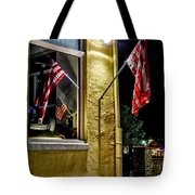 Old Glory Reflected Tote Bag