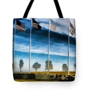 Old Glory-the American Flag Tote Bag by Luther Fine Art