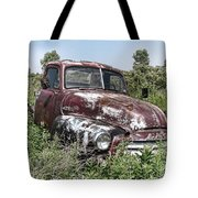 Old Gmc Truck Tote Bag