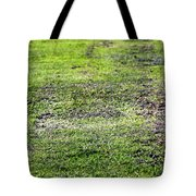 Old Green Grass Tote Bag