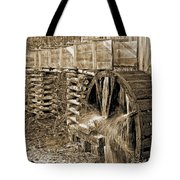 Old Grist Mill Photo Tote Bag