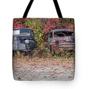 Old Guys Rule Panoramic Tote Bag