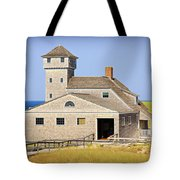 Old Harbor Lifesaving Station--cape Cod Tote Bag