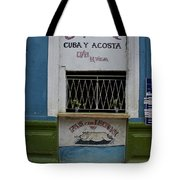 Old Havana Cafeteria  Tote Bag