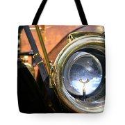 Old Headlights Tote Bag
