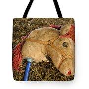 Old Hobby Horse Head Tote Bag