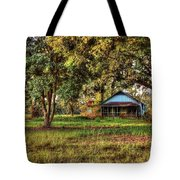 Old Home On 98 Tote Bag