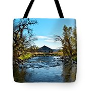 Old Homestead Along Hwy 16 Tote Bag