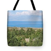 Old House By The Beach Tote Bag