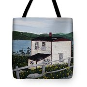 Old House - If Walls Could Talk Tote Bag