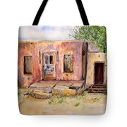 Old House In Clovis Nm Tote Bag