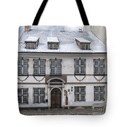 Old House In Riga Tote Bag
