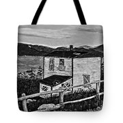 Old House - Memories - Shutters And Boards Tote Bag