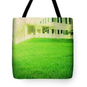 Old House On The Hill Tote Bag