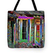 Old House Pop Art Tote Bag