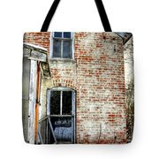Old House Two Windows 13104 Tote Bag