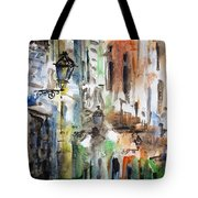 Old Houses Of San Juan Tote Bag