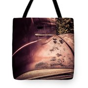 Old Hudson Car Tote Bag by Edward Fielding