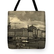 Old In Memory But Modern Copenhagen Tote Bag