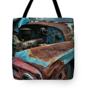 Old International Hood And Fender  Hdroc4224-13 Tote Bag
