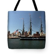 Old Iron Sides  Tote Bag