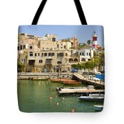Old Jaffa Port Tote Bag