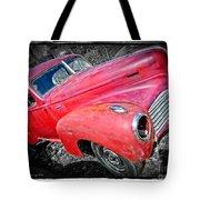 Old Junker Car Tote Bag