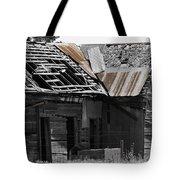 Old Kansas Homestead Tote Bag